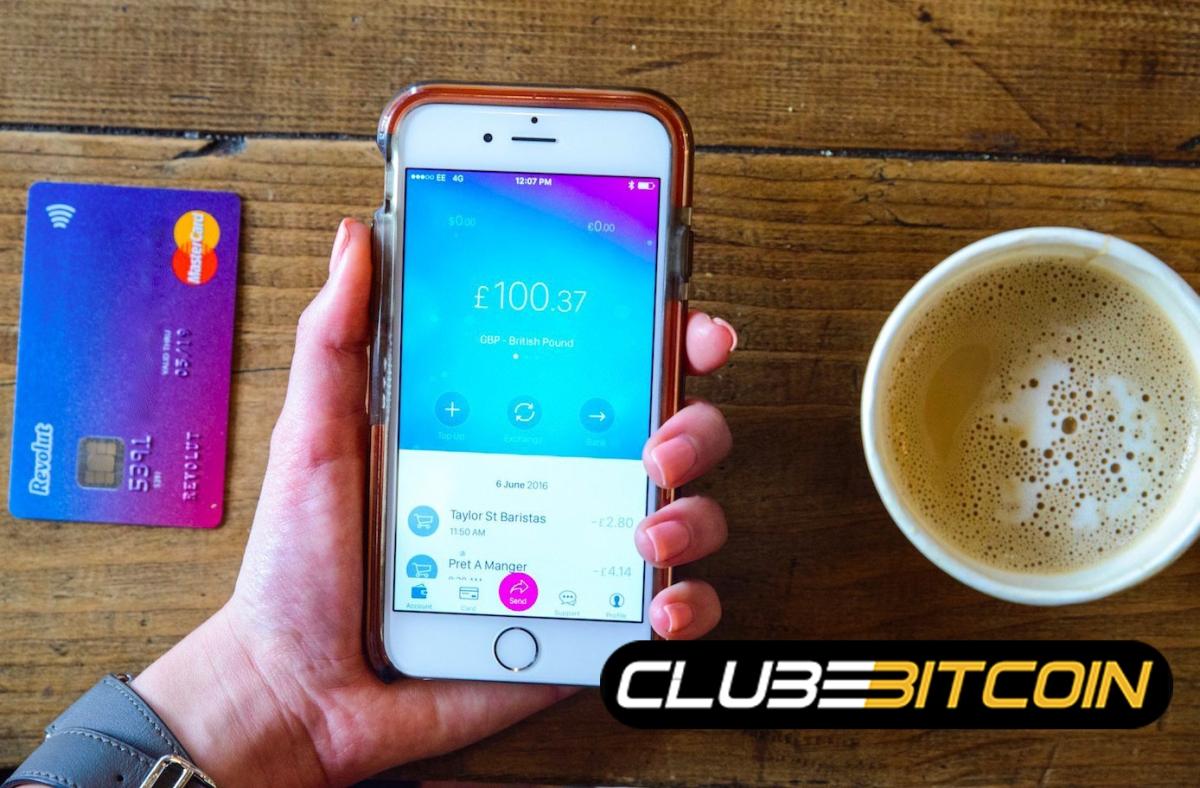 O Banco digital alternativo 'Revolut App' agora suporta XRP, Bitcoin Cash como Opções decriptomoedas.