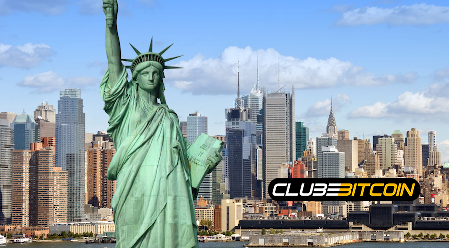 Legisladores americanos querem tornar Nova York a 'capital' dascriptomoedas.